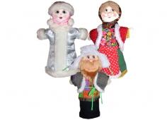 Снегурочка (сказка) 3 персонажа